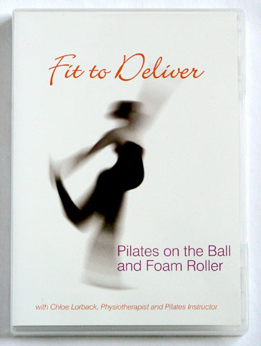 DVD Pilates Ball and Foam Roller